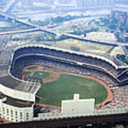 Yankee Stadium Aerial Poster by Retro Images Archive
