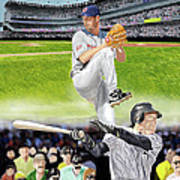 Yankees Vs Indians Poster