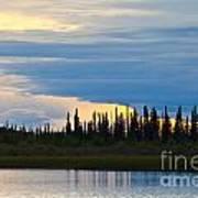 Yarger Lake Sunset Poster