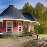 Yarmouth Grand Trunk Railroad Station I Poster