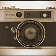 Yashica Lynx 5000e 35mm Camera Poster by Mike McGlothlen
