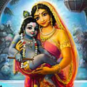 Yashoda And  Krishna Poster
