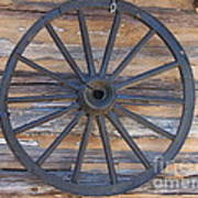Yates Mill Wagon Wheel Poster by Kevin Croitz