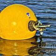 Yellow Buoy Poster