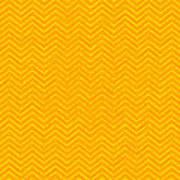 Yellow Chevron Waves Poster