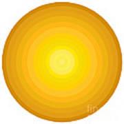 Yellow Circles Poster