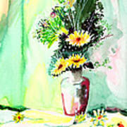 Yellow Flowers 1 Poster