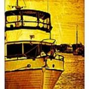 Yellow On The Water Poster