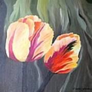 Yellow Tulips Poster by Carola Ann-Margret Forsberg