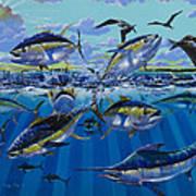 Yellowfin Run Off002 Poster