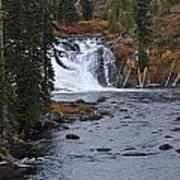 Yellowstone Falls Poster