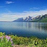 Yellowstone Lake Poster