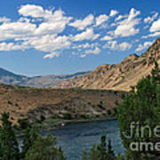 Yellowstone River Overlook Poster