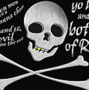 Yo Ho And A Bottle Of Rum Poster