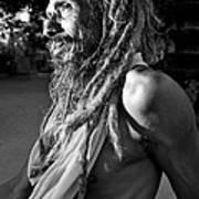 Yogi At Oachira Poster