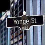 Yonge Street Poster