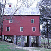 York Grist Mill Poster