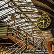 York Railway Station Poster