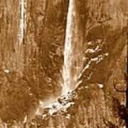 Yosemite Bridalveil Falls Poster