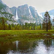 Yosemite Rain Poster