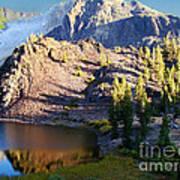 Yosemite Reflection Poster by Eva Kato