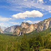 Yosemite Tunnel View Poster