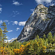 Yosemite Valley Rocks Poster