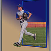 Young Baseball Athlete Poster