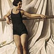 Young Bather. 1st Half 20th C. Artists Poster