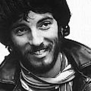 Young Bruce Springsteen Poster