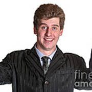 Young Business Man  Poster