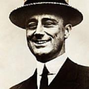 Young Franklin  Roosevelt Poster