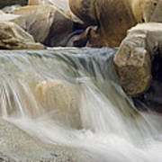 Yuba River Granite Poster