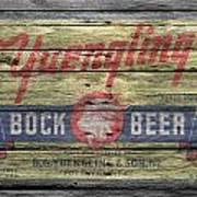 Yuengling Bock Beer Poster