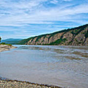 Yukon River As It Heads Northeast To The Arctic Circle-yt Poster