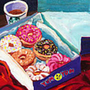 Yum Yum Donuts Poster