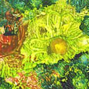 Yupo Flower2 Poster