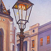 Zagreb Gaslight - Croatia Poster