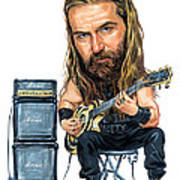 Zakk Wylde Poster by Art