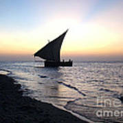 Zanzibar Sunset 20 Poster by Giorgio Darrigo