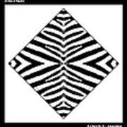 Zebra Skin Poster by Roberto Alamino