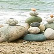 Zen Meditation Balance Poster