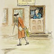 Zenger And Bradford, 1730s Poster