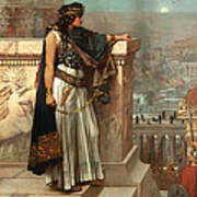 Zenobia's Last Look On Palmyra Poster