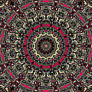 Zentangle No. 7 Kaleidoscope Poster
