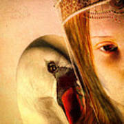 Zeus And Leda Poster