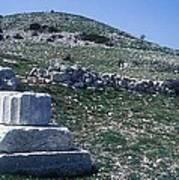 Zeus Lykaios Temple Poster