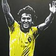 Zico - Brazil Poster