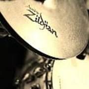 Zildjian Hi-hat Sepia Poster