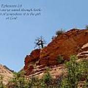 Zion  Eph 2-8 Poster
